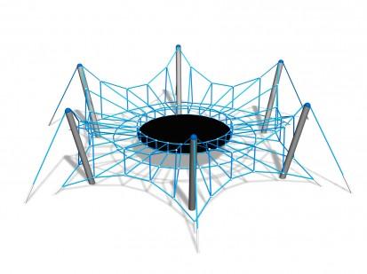 SPIDER M - Structura de catarat 200220 CLOXX Echipamente de joaca din metal pentru copii