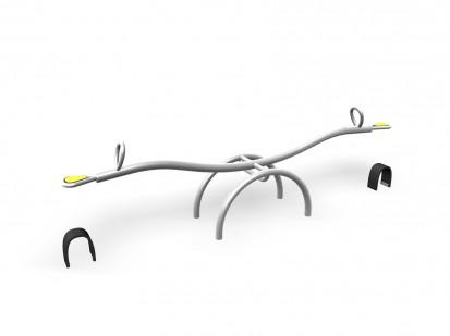 SEESAW - Balansoar cu arc, 2 locuri 220050 CLOXX Echipamente de joaca din metal pentru copii