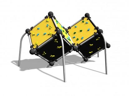 WALL BOULDERING CUBE M - Echipament de catarat 220610 CLOXX Echipamente de joaca din metal pentru