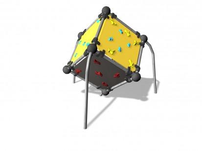 WALL BOULDERING CUBE S - Echipament de catarat 220605 CLOXX Echipamente de joaca din metal pentru