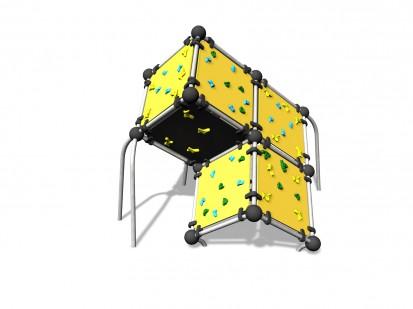 WALL BOULDERING CUBE L - Echipament de catarat 220615 CLOXX Echipamente de joaca din metal pentru