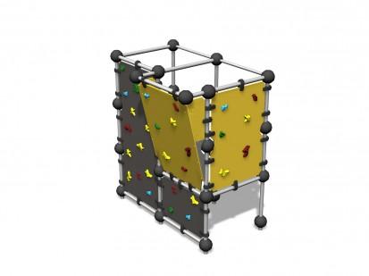 WALL BOULDERING S - Echipament de catarat 220680 CLOXX Echipamente de joaca din metal pentru copii