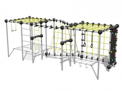URANIUM - Echipament de catarat 220468 CLOXX Echipamente de joaca din metal pentru copii