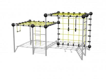 ZIRCONIUM - Echipament de catarat 220470 CLOXX Echipamente de joaca din metal pentru copii