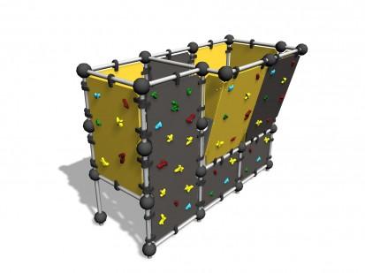 WALL BOULDERING L - Echipament de catarat 220690 CLOXX Echipamente de joaca din metal pentru copii