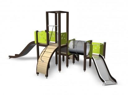 Activity Tower - Echipament de joaca pentru copii 137031M NEW FINNO Echipamente de joaca din lemn