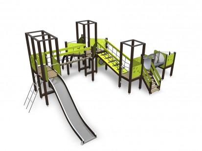 ACTIVITY TOWER - Echipament de joaca pentru copii 137050M NEW FINNO Echipamente de joaca din lemn