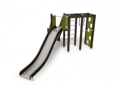 ACTIVITY TOWER - Echipament de joaca pentru copii 137115M NEW FINNO Echipamente de joaca din lemn