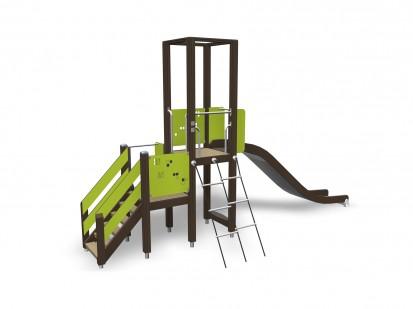 ACTIVITY TOWER - Turn de joaca pentru copii 137032M NEW FINNO Echipamente de joaca din lemn
