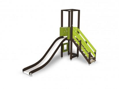 ACTIVITY TOWER - Echipament de joaca cu turn 137346M NEW FINNO Echipamente de joaca din lemn