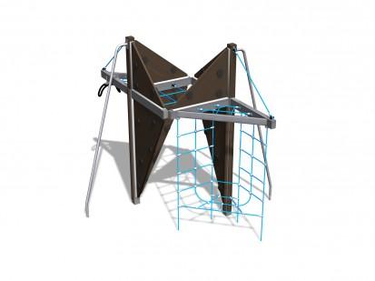 ARIS - Echipament de catarat pentru copii 150211M NEW FINNO Echipamente de joaca din lemn pentru