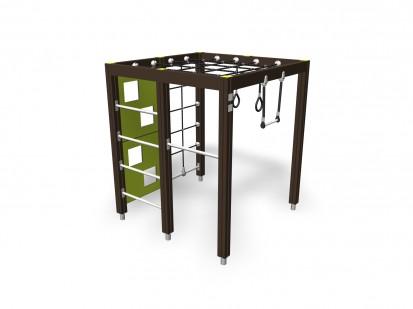 CLIMBING FRAME - Cadru de catarat pentru copii 137072M NEW FINNO Echipamente de joaca din lemn