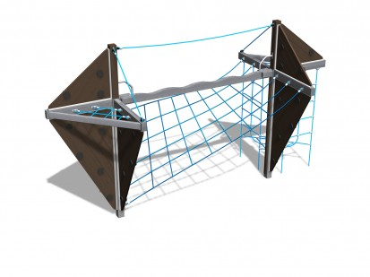 HADES - Echipament de catarat pentru copii 150210M NEW FINNO Echipamente de joaca din lemn pentru