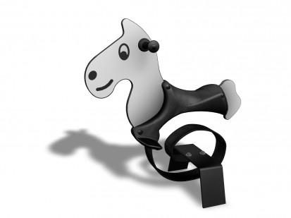 HORSE - Balansoar cu arc 010501 NEW FINNO Echipamente de joaca din lemn pentru copii