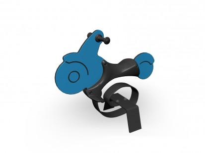 MOTORCYCLE - Balansoar cu arc 010504 NEW FINNO Echipamente de joaca din lemn pentru copii
