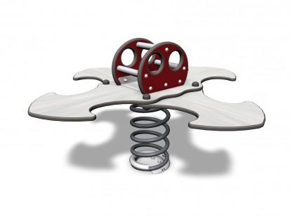 LADYBIRD FOR 4 - Balansoar cu arc 4 locuri 096321 NEW FINNO Echipamente de joaca din