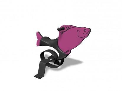 FISH - Balansoar cu arc 010514 NEW FINNO Echipamente de joaca din lemn pentru copii