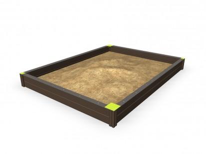 SANDBOX - Cadru cu nisip 137404M NEW FINNO Echipamente de joaca din lemn pentru copii