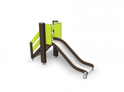SLIDE - Tobogan pentru copii 137017M NEW FINNO Echipamente de joaca din lemn pentru copii