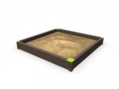 SANDBOX - Cadru cu nisip 137400M NEW FINNO Echipamente de joaca din lemn pentru copii