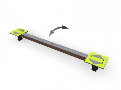 SHARKER - Echipament de joaca pentru copii 137210M NEW FINNO Echipamente de joaca din lemn pentru
