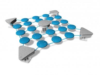 SURFY - Echipament de joaca pentru copii 200010 NEW FINNO Echipamente de joaca din lemn pentru