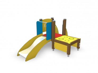 Echipament de joaca pentru copii sub 4 ani ANTON 104310M FINNO ABC Echipamente de joaca din