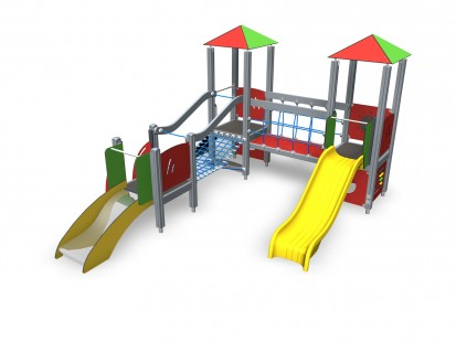 104320M - Echipament de joaca tematic pentru copii sub 4 ani FINNO ABC Echipamente de joaca