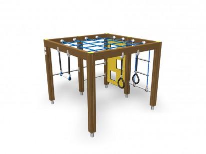 Echipament de joaca pentru copii sub 4 ani Cadru de catarat 104072M FINNO ABC Echipamente de