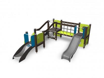 104320M (2)Echipament de joaca tematic pentru copii sub 4 ani FINNO ABC Echipamente de joaca din