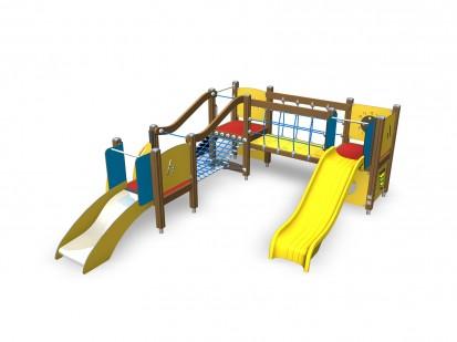 Echipament de joaca pentru copii sub 4 ani MARCUS 104320M FINNO ABC Echipamente de joaca din