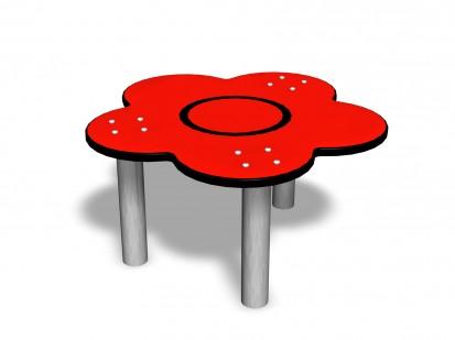 Echipament de joaca pentru copii sub 4 ani FLOWER TABLE 104610M FINNO ABC Echipamente de joaca