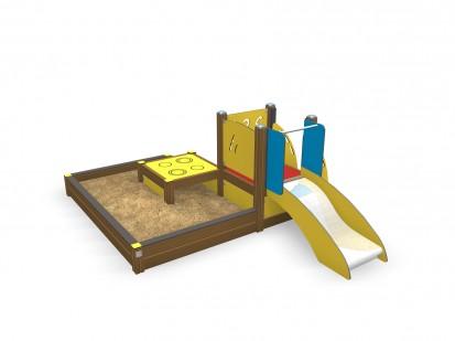 Echipament de joaca pentru copii sub 4 ani ROSA 104500M FINNO ABC Echipamente de joaca din