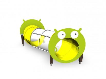 Echipament de joaca pentru copii sub 4 ani Tunel tubular lung 104625M FINNO ABC Echipamente de
