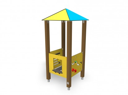 Echipament de joaca pentru copii sub 4 ani PLAY HOUSE 104300M FINNO ABC Echipamente de joaca