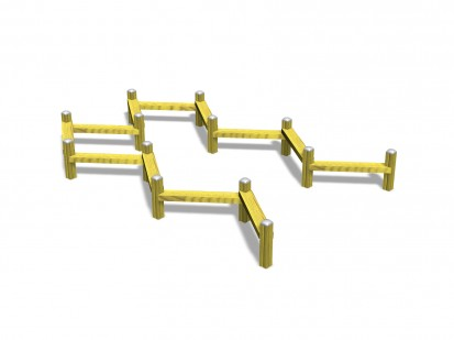 Structura pentru echilibru 175020 CLOVER Echipamente de joaca pentru copii