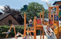 Echipamente de joaca din lemn, metal pentru copii LAPPSET