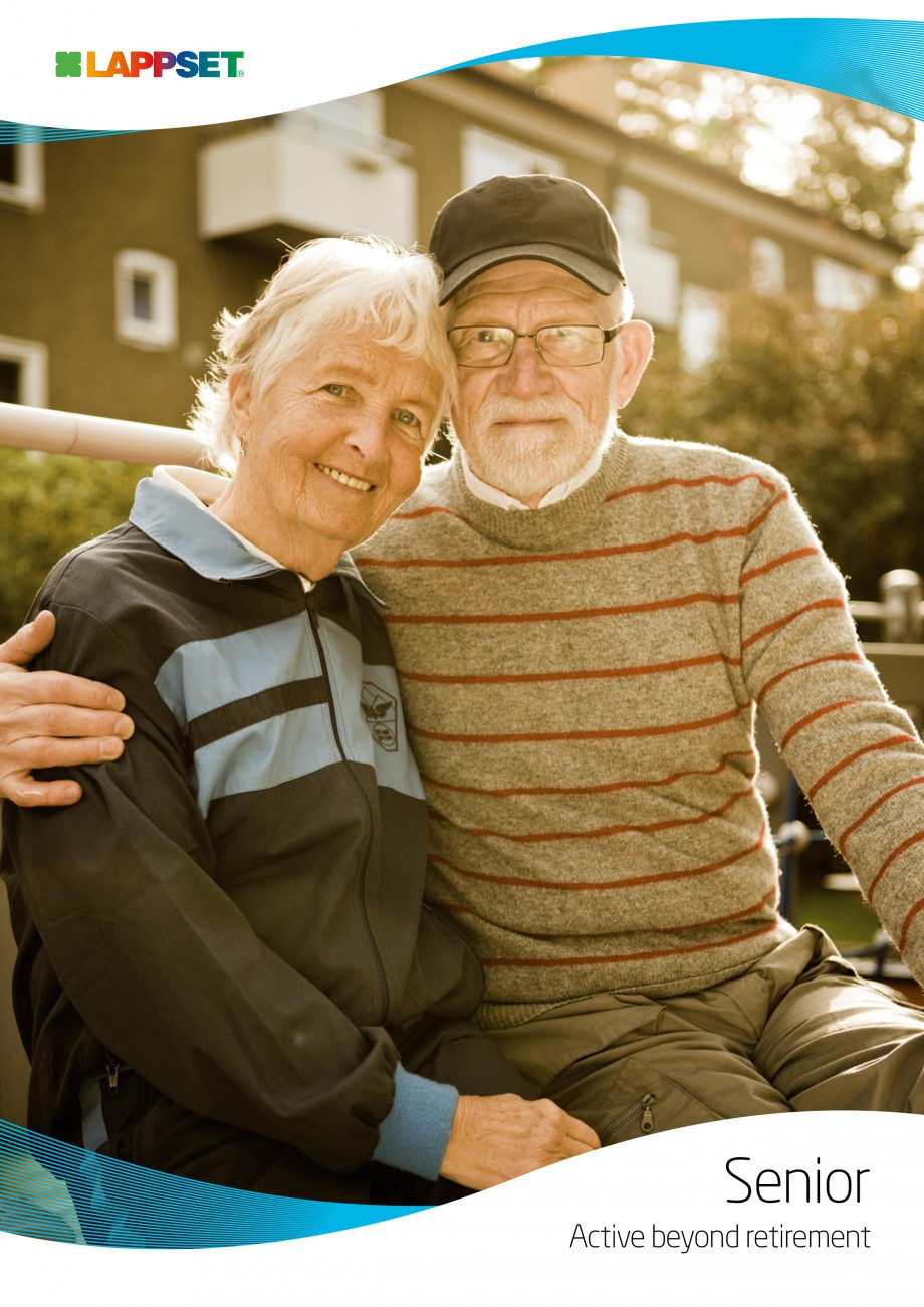 Pagina 1 - Senior sport - Activi la varste inaintate LAPPSET Fisa tehnica Engleza Senior Active...