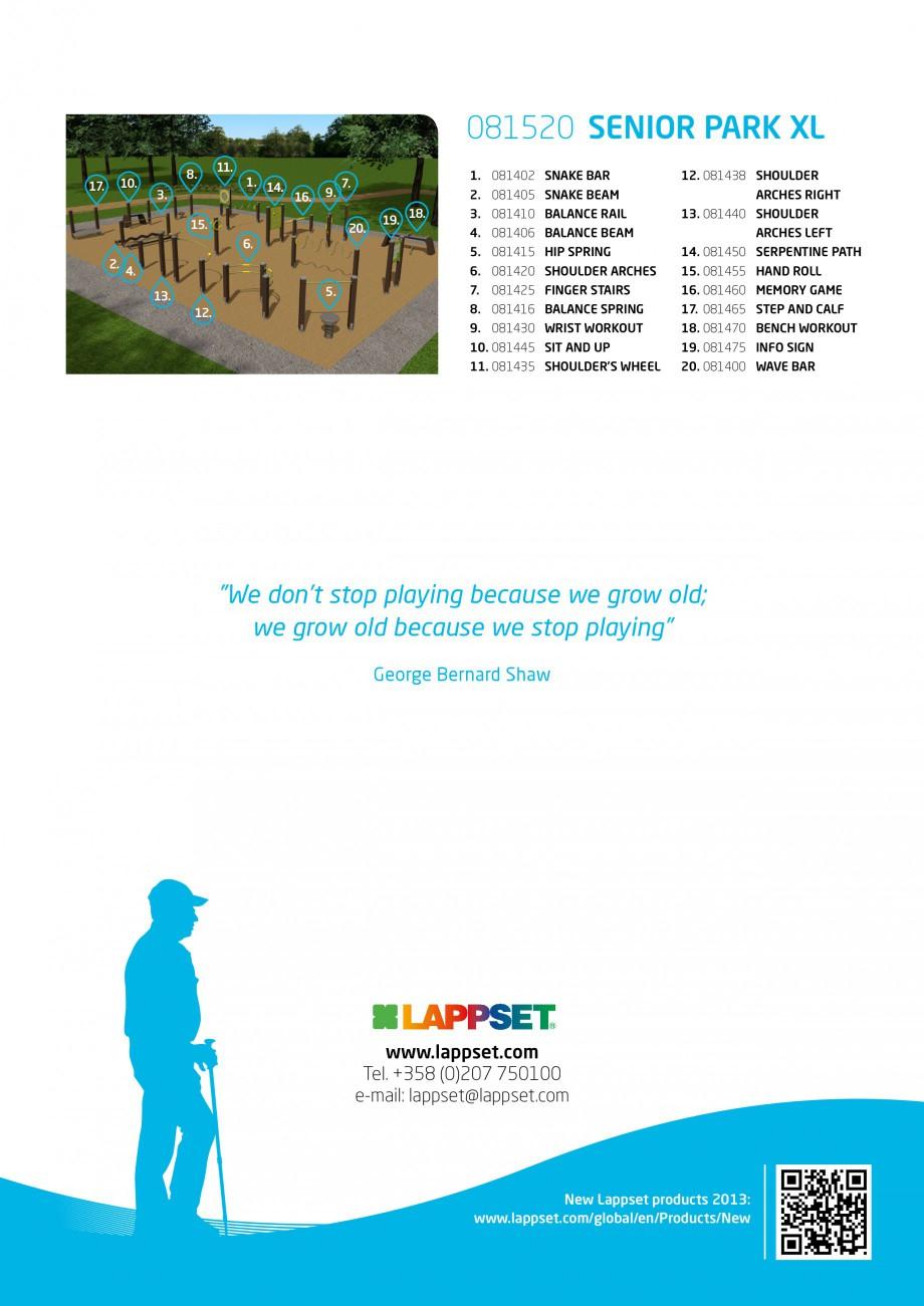 Pagina 4 - Senior sport - Activi la varste inaintate LAPPSET Fisa tehnica Engleza 445 SIT AND UP ...