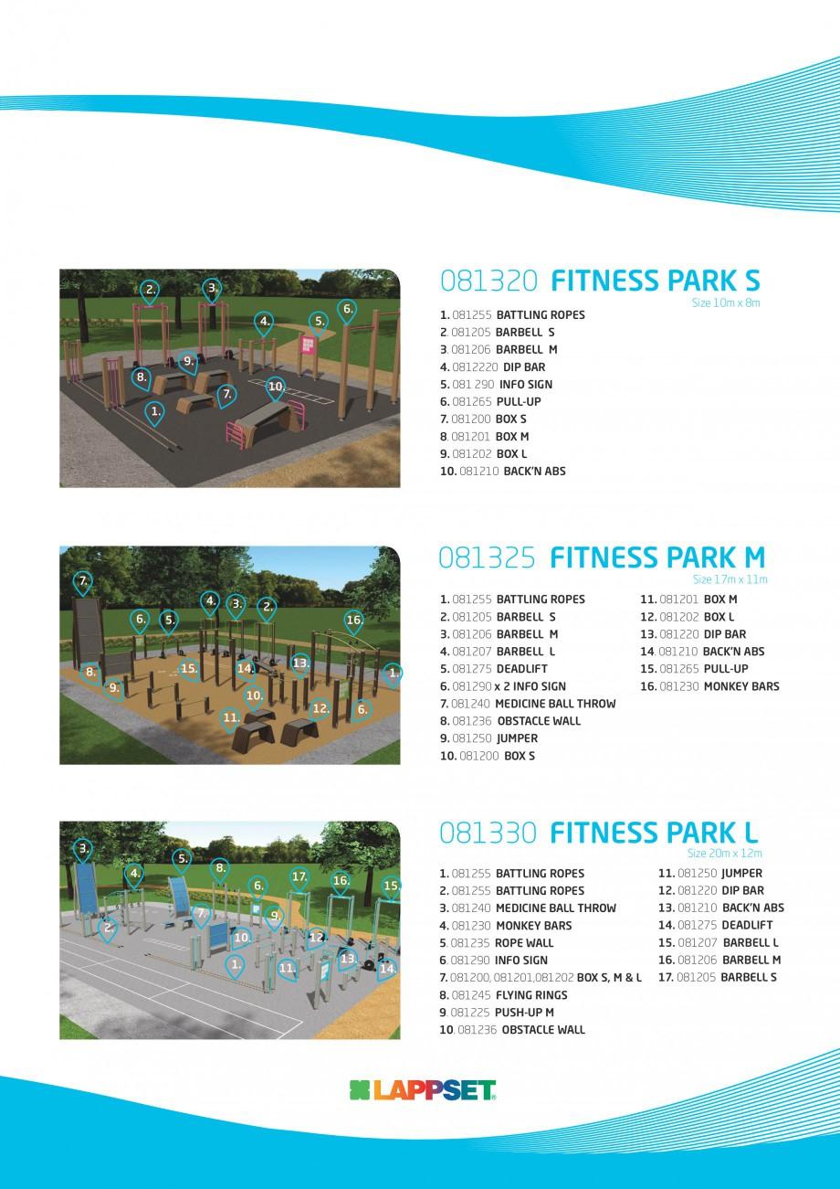 Pagina 3 - Echipamente Fitness LAPPSET Fisa tehnica Engleza  8.  13.  10.  1.  12.  11.  12. 081202 ...