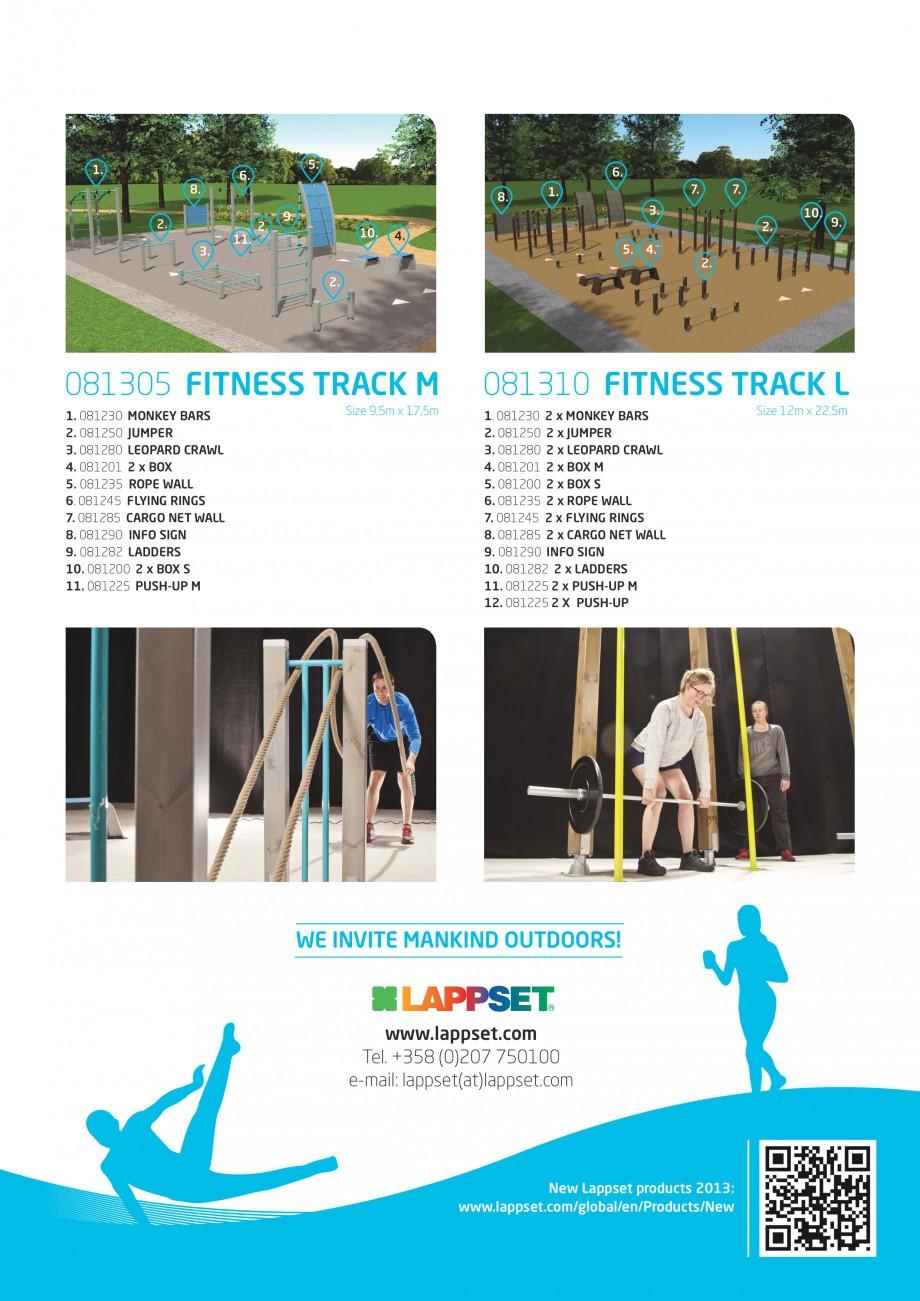 Pagina 4 - Echipamente Fitness LAPPSET Fisa tehnica Engleza Y BARS 2. 081250 JUMPER 3. 081280...
