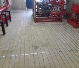 Sistem incalzire in pardoseala in zona industriala RAYCHEM - Poza 575