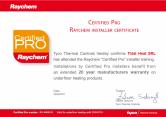 Certificat Pro - Garantie 20 de ani TOTAL HEAT
