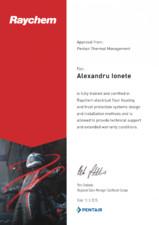 Certificat aprobare TOTAL HEAT
