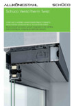 Sistem de ventilatie descentralizata integrat in fereastra SCHUCO - VentoTherm Twist