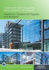 Sisteme din aluminiu pentru pereti cortina SCHUCO