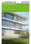 Sistem de profile din aluminiu pentru pereti cortina SCHUCO - FWS 60 CV