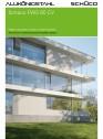 Sistem de profile din aluminiu pentru pereti cortina