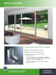 Usi glisante din PVC pentru terase si balcoane - ThermoSlide SCHUCO