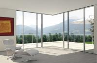 Usi glisante din aluminiu pentru interior si exterior SCHUCO va ofera o gama de profile glisante, pliante din aluminiu pentru usi de interior si exterior. Etanse la ploaie, au o izolare fonica excelenta.